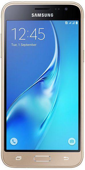 Samsung Galaxy J3, SM-J320FZDDETL (zlatý) + dárek T-Mobile mobilní internet s kreditem 200 Kč zdarma