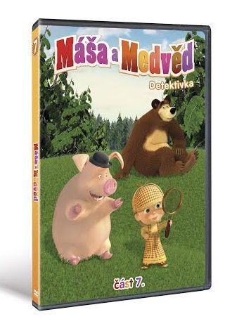 Máša a Medvěd 7 - Detektivka - DVD film