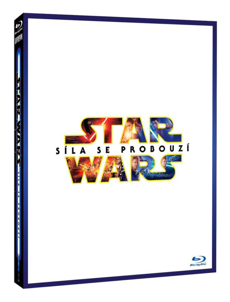Star Wars: Síla se probouzí - Limit. edice Lightside - Blu-ray film