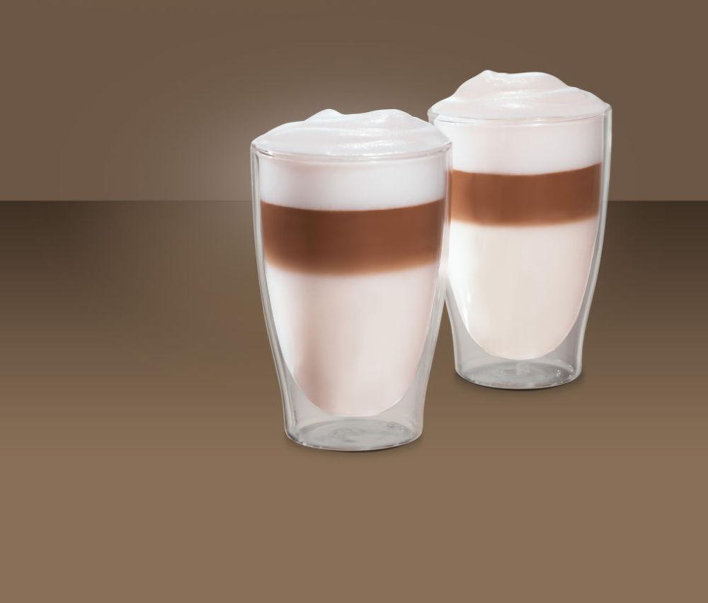 tchibo cafissimo latte macchiatto lky 2ks 420ml. Black Bedroom Furniture Sets. Home Design Ideas
