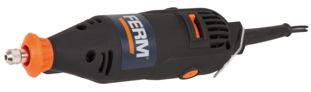 FERM FCT 160F, přímá bruska s ohebným hřídelem - v kufříku