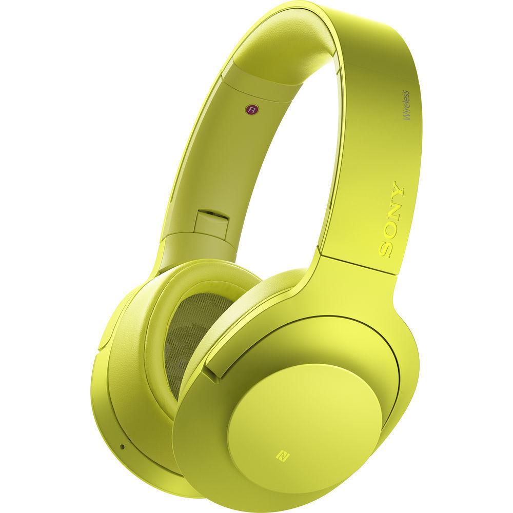 Sony MDR-100ABN (žlutá)