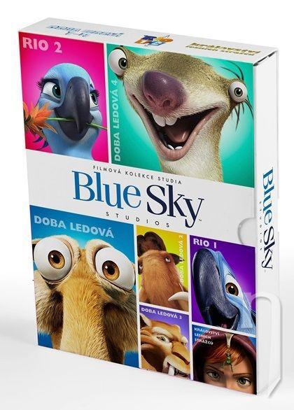 BlueSky kolekce (Rio, Rio 2, Doba ledová 1-4, Království lesních strážců) - 1xDVD film