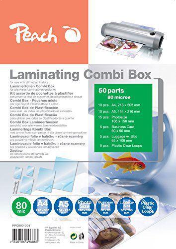 Peach PPC500-001 - laminovací fólie (50ks)