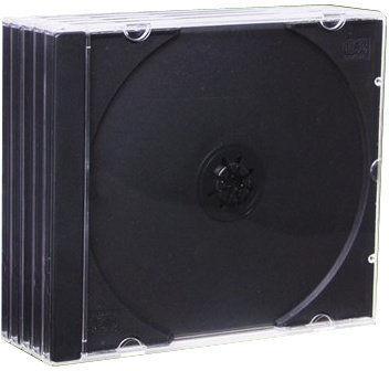 Esperanza Krabička na 1 CD - 5-pack ve fólií (černý)