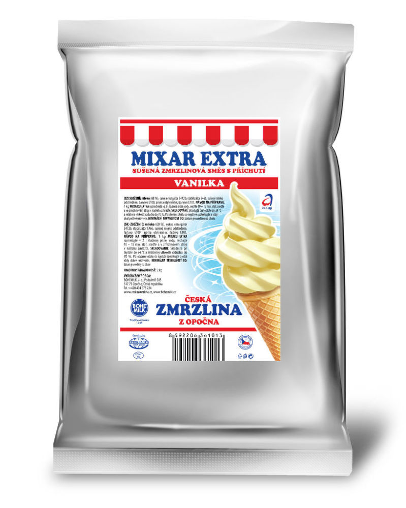 Bohemilk ZSB-01 - Zmrzlinová směs