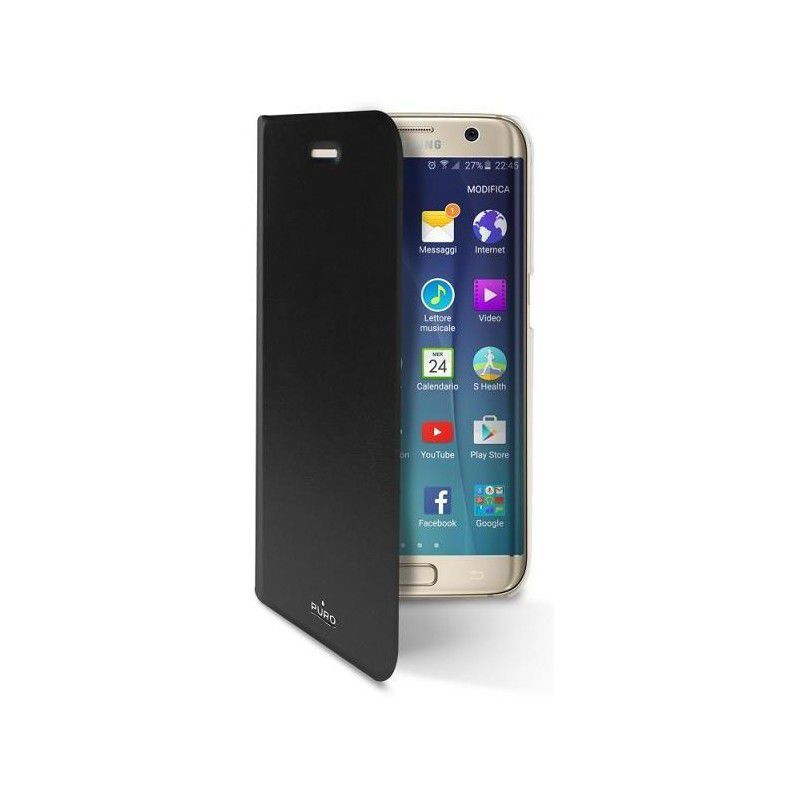 Puro zadní kryt pro Samsung Galaxy S7 Edge (černý)