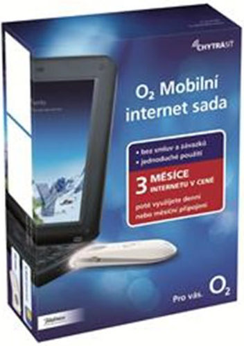O2 mobilní internet sada 3 měsíce zdarma 1,5 GB x 3 vs 100 MB x 90 dní