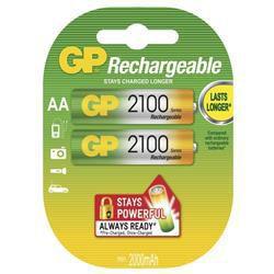 GP 210AAHC - AA (HR6) 2100mAh, 2 ks