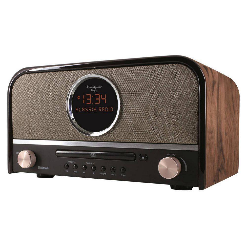Soundmaster NR850 (hnědo-černé)