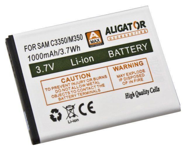 Aligator baterie pro Samsung C3350 Xcover2, Li-Ion 1000 mAh