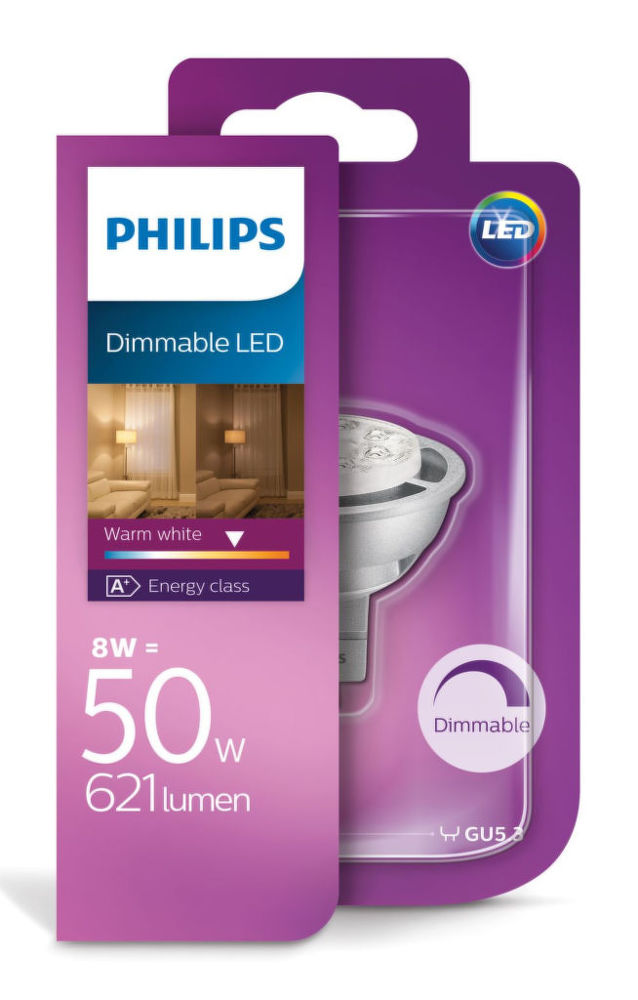 Philips Lighting 8 W (50 W) GU5.3 WW 12V