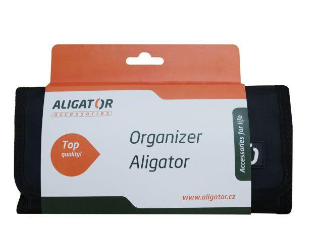 Aligator cestovní organizér (černý)