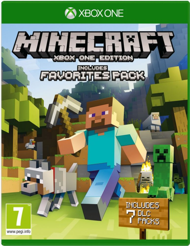 Microsoft XboxOne Minecraft: Favourites Pack