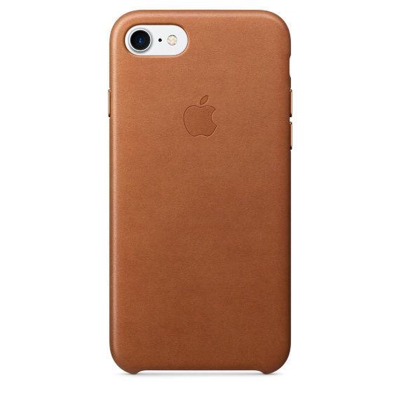 Apple kožené pouzdro na iPhone 7 (hnědá)