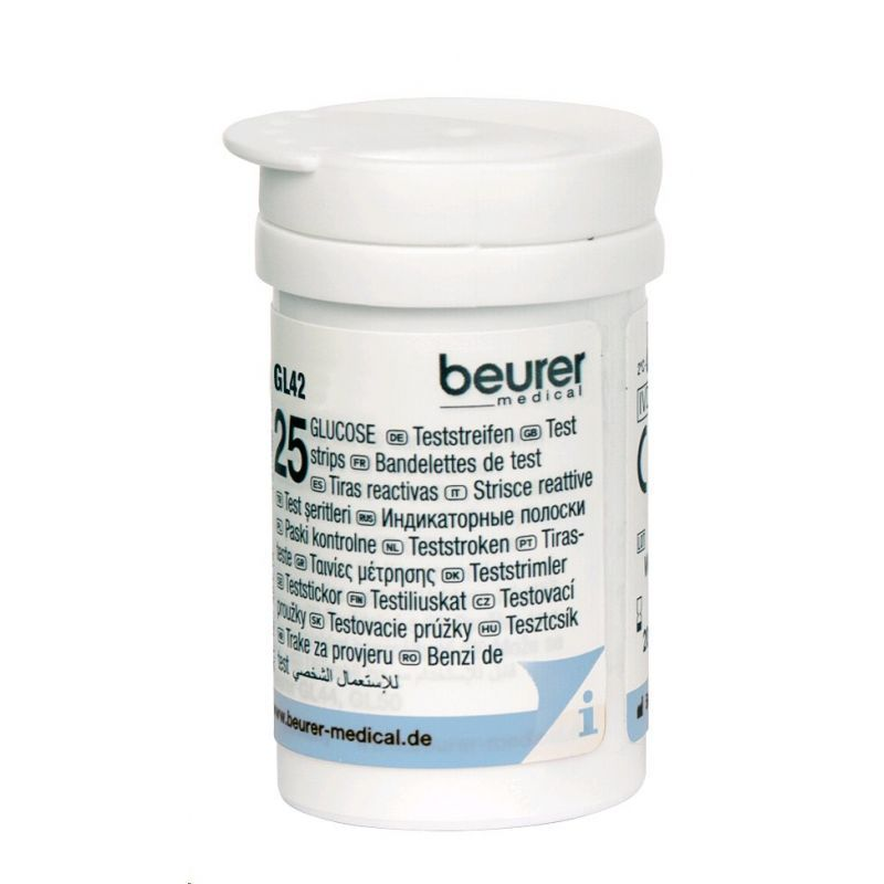 Beurer 461.15 testovací prúžky