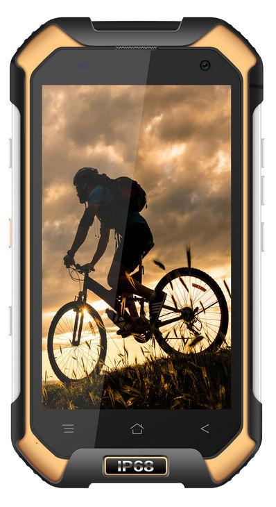 iGET Blackview BV6000S (černo-žlutý) + dárek T-Mobile mobilní internet s kreditem 200 Kč zdarma