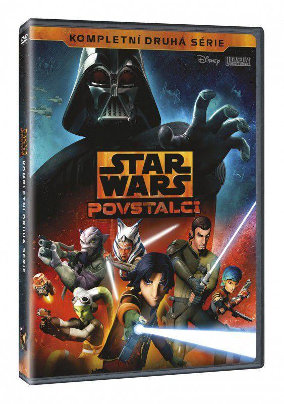 Star Wars: Povstalci 2. série - 4xDVD