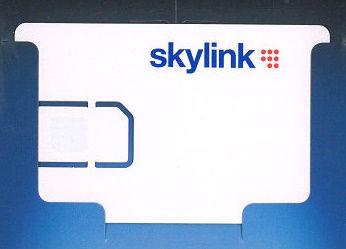Karta SkyLink Standard HD M7, + 2 měsíce placených programů zdarma