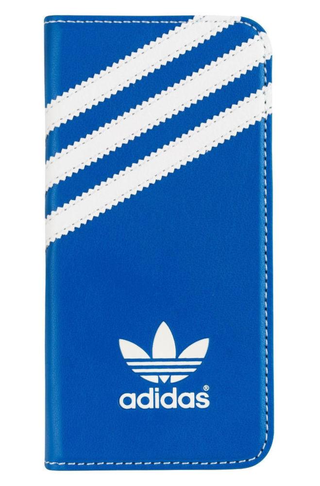 Adidas pouzdro pro Apple iPhone 5/5s (modrobílé)
