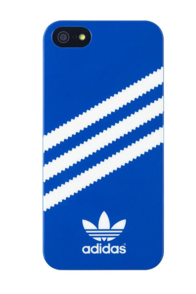 Adidas pouzdro pro iPhone 5 5s (modré)  829694ace1a