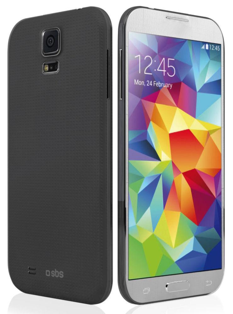 SBS pouzdro pro Samsung Galaxy S5/Neo (černé), TEEXSLIMSAS5K