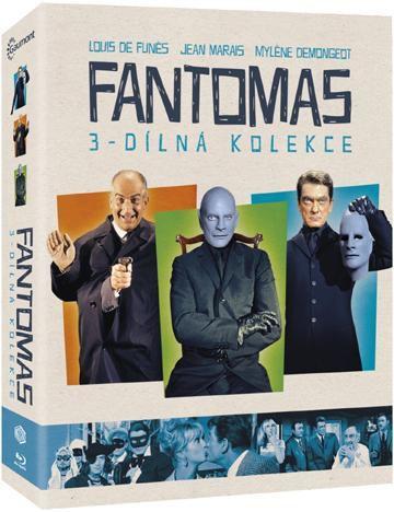 Fantomas kolekce - Blu-Ray film