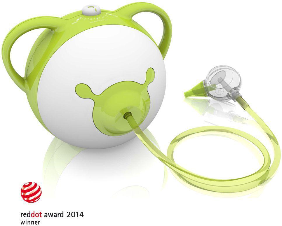 Nosiboo odsávačka (zelená) - Elektrická odsávačka hlenů