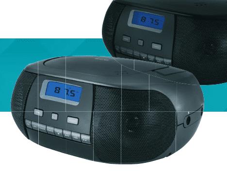 ECG CDR 500 TIT, Rádioprehrávač