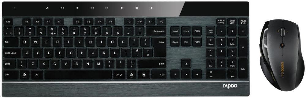 Rapoo 8900P (černá) - set klávesnice + myši