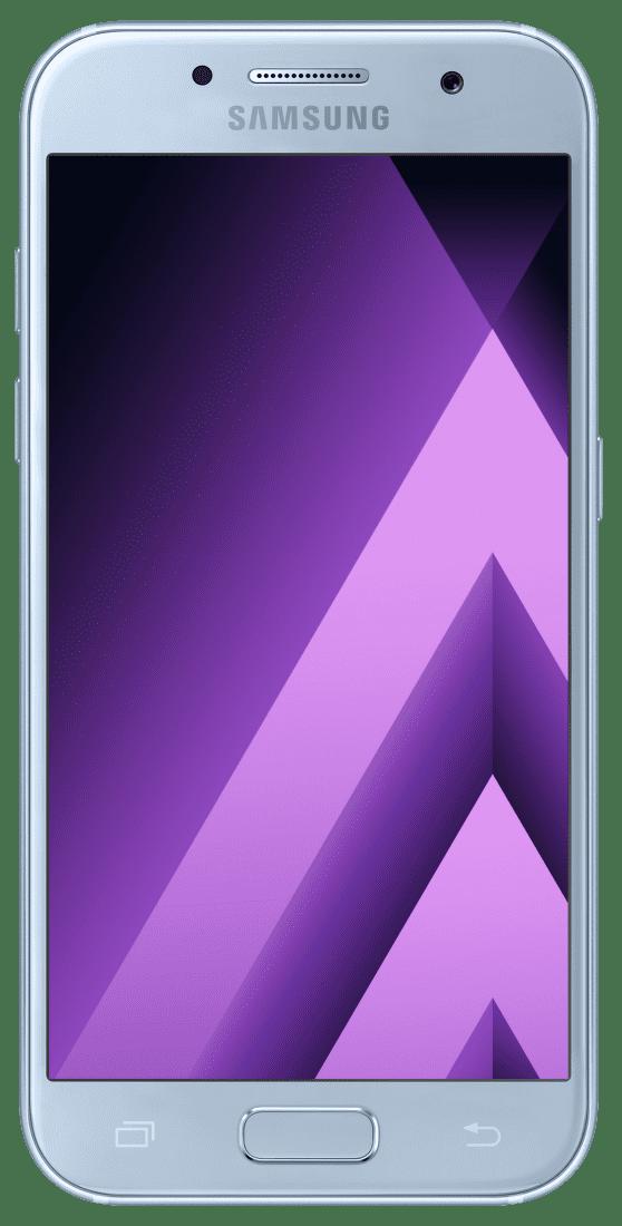 Samsung Galaxy A3 2017 (modrý) + dárek MyMax AA-1176, 10 000 mAh (bílá) zdarma