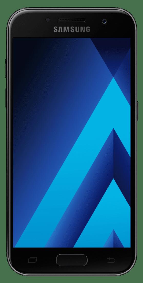 Samsung Galaxy A3 2017 černý