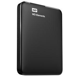 WD Elements Portable 1TB USB 3.0 WDBUZG0010BBK-EESN černý - externí pevný disk
