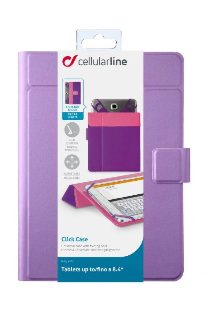 "CellularLine CLICK CASE 8,4"" (fialové)"