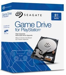 Seagate PS4 2TB HDD, int. disk pro PS4