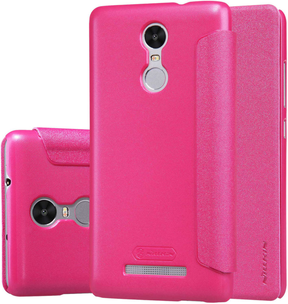 NILLKIN Sparkle Folio Xiaomi Redmi Note 3 Pouzdro (růžové)