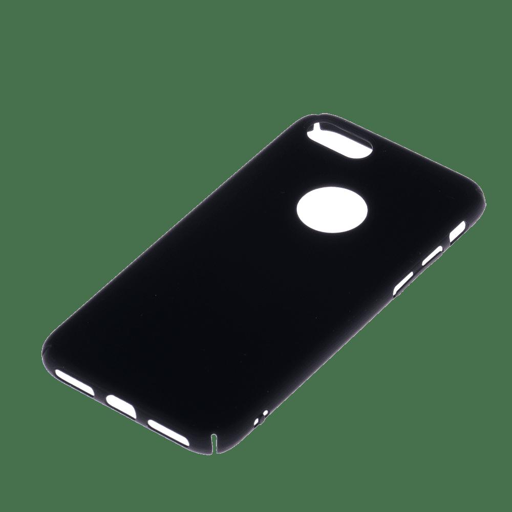 Winner iPhone 7 Velvet černé pouzdro na mobil