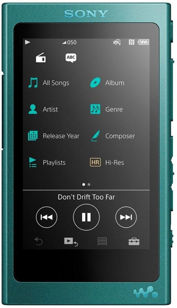 Sony NW-A35L 16GB modrý
