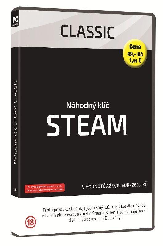 Steam Classic náhodný klíč k PC hre