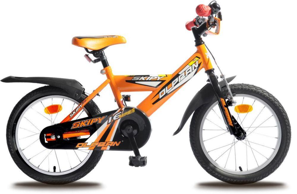 """OLPRAN Skipy 16"""", Kolo, černá - oranžová"""