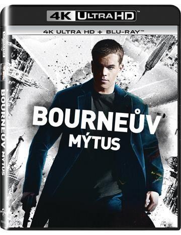 Bourneův mýtus - 2xBD (Blu-ray + 4K UHD film)