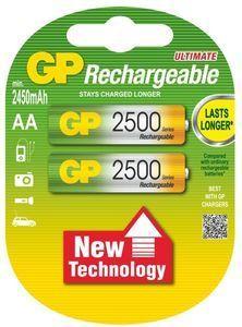 GP 2500 mAh AA NiMH, Nabíjecí baterie