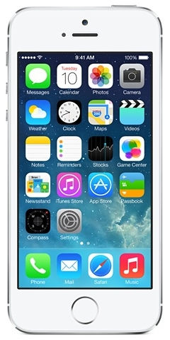 Apple iPhone 5S 16 GB (stříbrný)