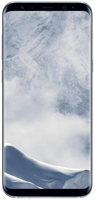 Samsung Galaxy S8+ stříbrný