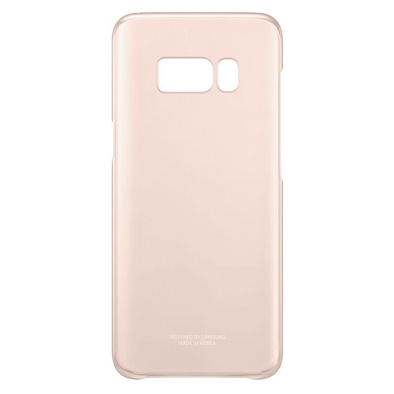 Samsung Clear Cover EF-QG950 Galaxy S8 růžové