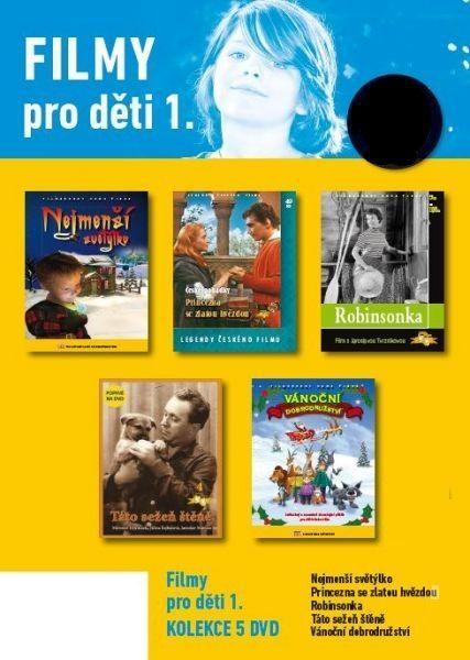 Filmy pro děti 1. - 5 DVD