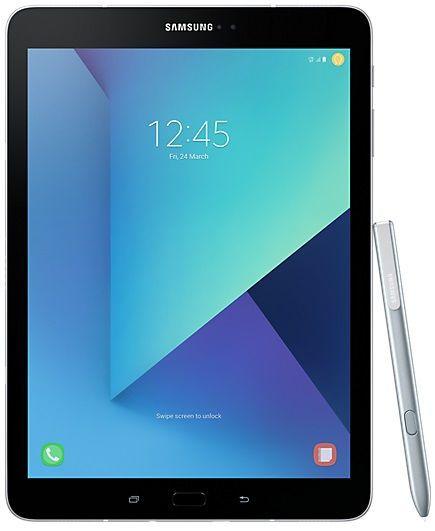 Samsung Galaxy Tab S3 Wi-Fi stříbrný + dárek Samsung Micro SDHC 32GB EVO Plus + SD adaptér MB-MC32GA/EU zdarma