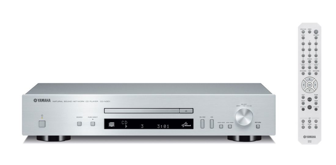 Yamaha CD-N301 stříbrný