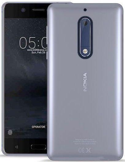 Puro průhledný zadní kryt na Nokia 5