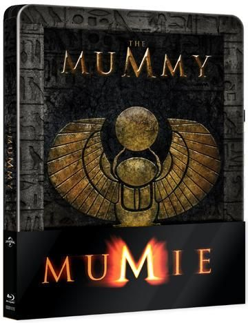 Mumie Steelbook - Blu-ray film